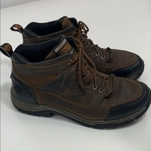 Ariat Men's Terrain leather laced ATS boots